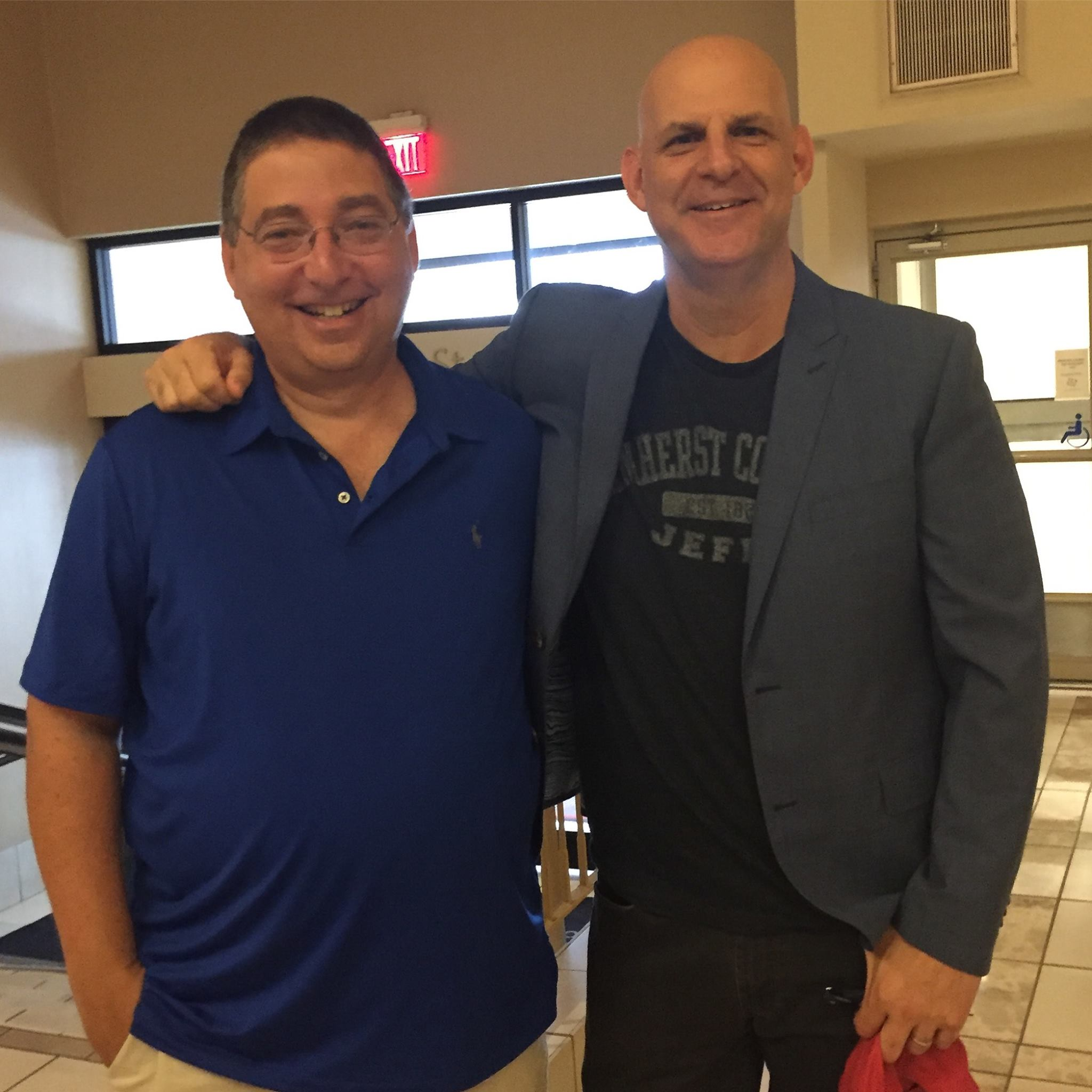 Lee and Harlan Coben at Bouchercon 2016