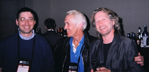 Lee Goldberg, Ken Bruen and Giles Blunt