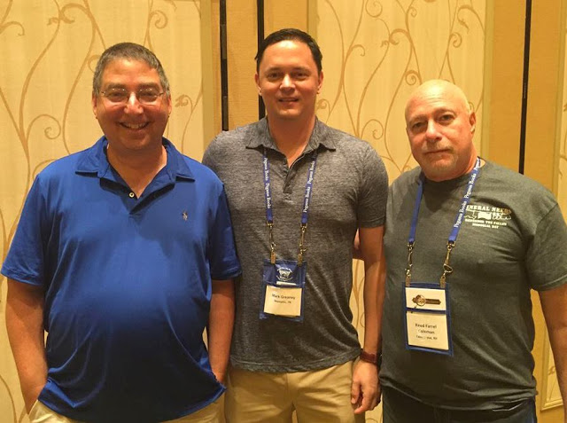 Lee Goldberg, Mark Greaney and Reed Farrel Coleman at Bouchercon New Orleans 2016