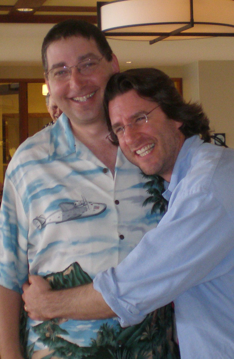 Lee and Barry Eisler at Left Coast Crime Hawaii