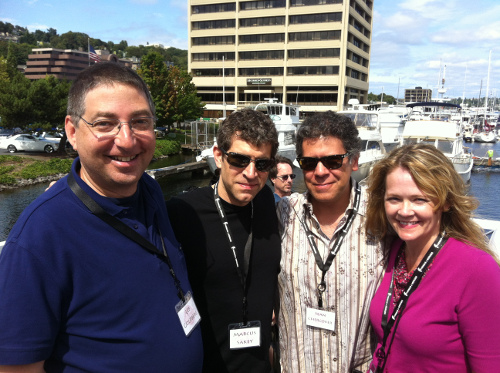 Lee Goldberg, Markus Sakey, Sean Chercover and Ann Voss Petersen