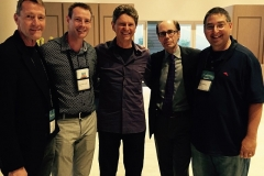 Lee Child, Boyd Morrison, Paul Levine, Jeffery Deaver, and yours truly