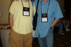 Lee Goldberg and Lee Child at Thrillerfest in Phoenix 2006