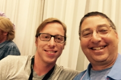Blake Crouch & Lee Goldberg at Bouchercon 2014
