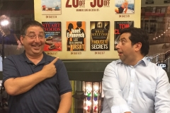 Lee and his brother Tod express their delight at having books released simultaneously in June 2016