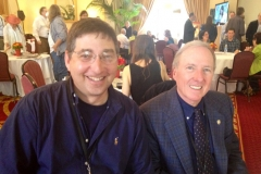 Lee Goldberg and Joseph Wambaugh at Los Angeles Times Festival of Books