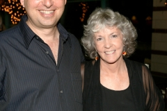 Lee Goldberg and Sue Grafton in Owensboro, KY