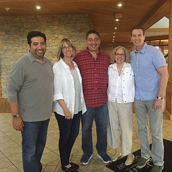 Tod Goldberg, Robin Burcell, Lee, Maxine Paetro and Boy Morrison at the Writers Police Academy 2016