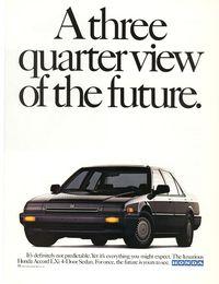 Honda Accord Ad 1987