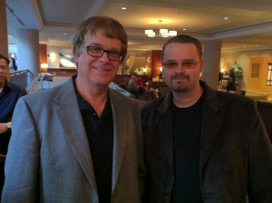 Authors Max Allan Collins and Jay Stringer