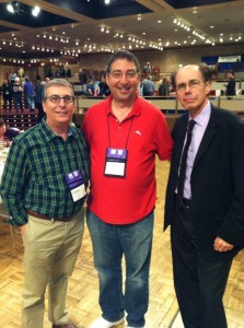 Joel Goldman, Lee Goldberg, Jeffery Deaver at Bouchercon Albany