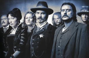 James Strauss claims to have written episodes of DEADWOOD. He didn't.