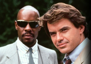 Avery Brooks as Hawk and Robert Urich as Spenser in Spenser For Hire