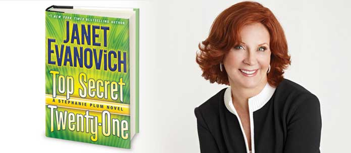 Top Secret Twenty-One by Janet Evanovich - On Sale June 17