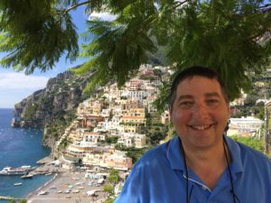 We didn't end up setting any sequences in Positano in THE PURSUIT...but it's bound to show up in future novels the same way my past trips to Lohr, Germany and Montreal made it into this one.