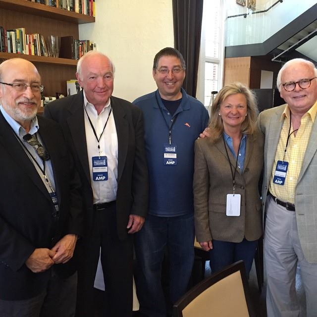 Thomas Perry, Joseph Kanon, Lee, Lisa Scottoline and Stuart Woods at the Los Angeles Times Festival of Books 2015