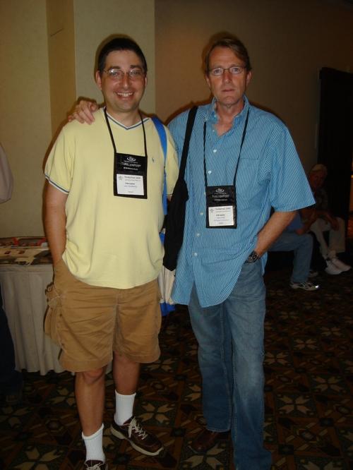 Lee Goldberg and Lee Child at Thrillerfest in Phoenix 2006