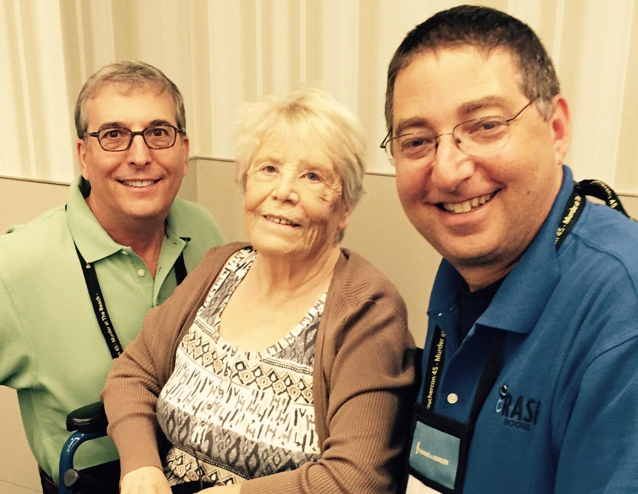 Joel Goldman, Maxine O'Callaghan and Lee Goldberg
