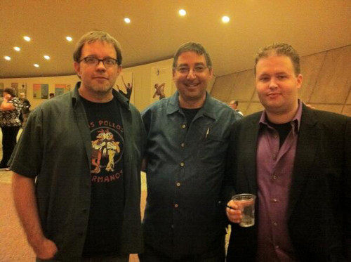 John Rector, Lee Goldberg, and Roger Hobbs