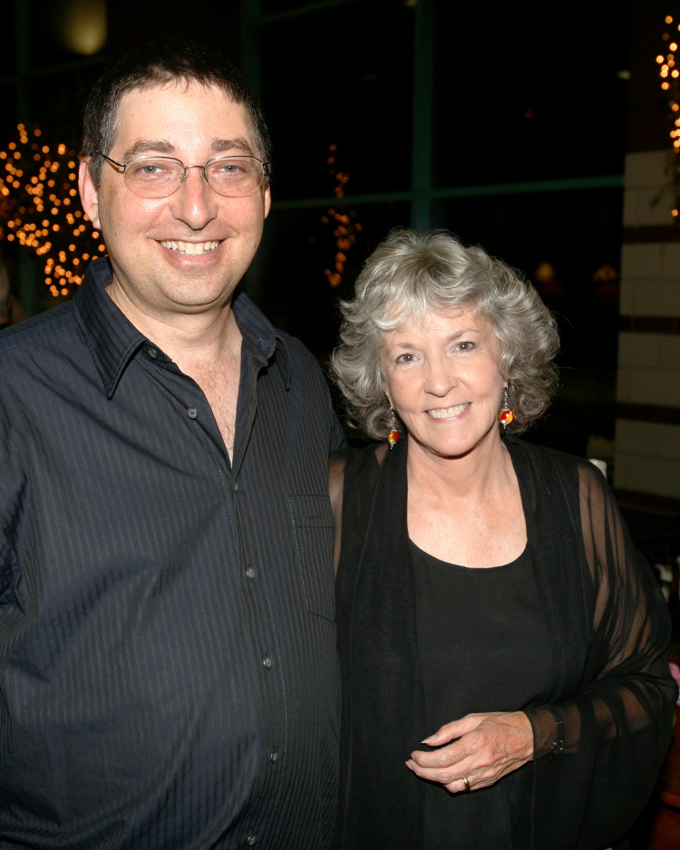 Lee Goldberg and Sue Grafton in Owensboro, KY