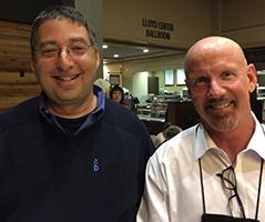Lee and Mark Sullivan at Left Coast Crime 2014