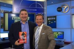 Lee Goldberg & WABC weatherman Lee Goldberg (July 2018)