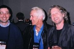 Lee Goldberg, Ken Bruen and Giles Blunt