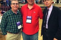 Joel Goldman, Lee Goldberg, Jeffery Deaver at Bouchercon Albany