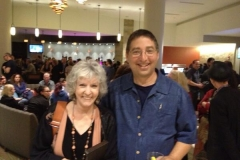 Kentucky Colonels Sue Grafton and Lee Goldberg at Bouchercon