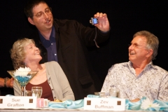 Sue Grafton, Lee Goldberg, Zev Buffman