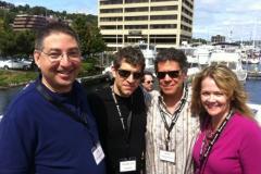 Lee Goldberg, Markus Sakey, Sean Chercover and Ann Voss Petersen